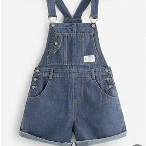 Denim - Jean short overalls